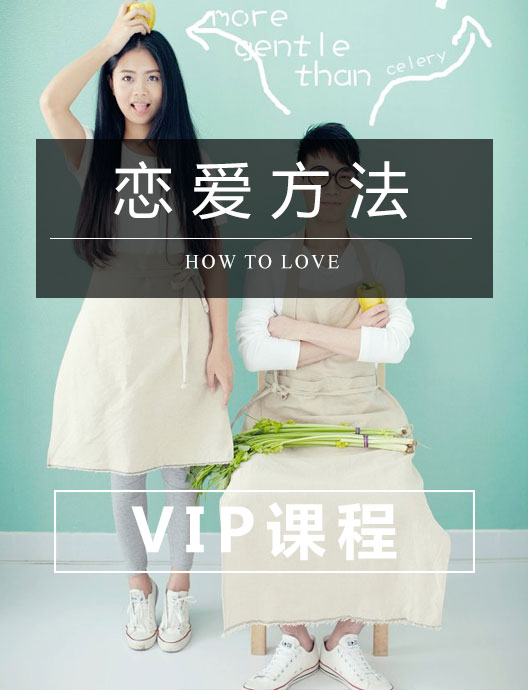 恋爱方法VIP版--你与幸福的距离,只差一套恋爱方法!